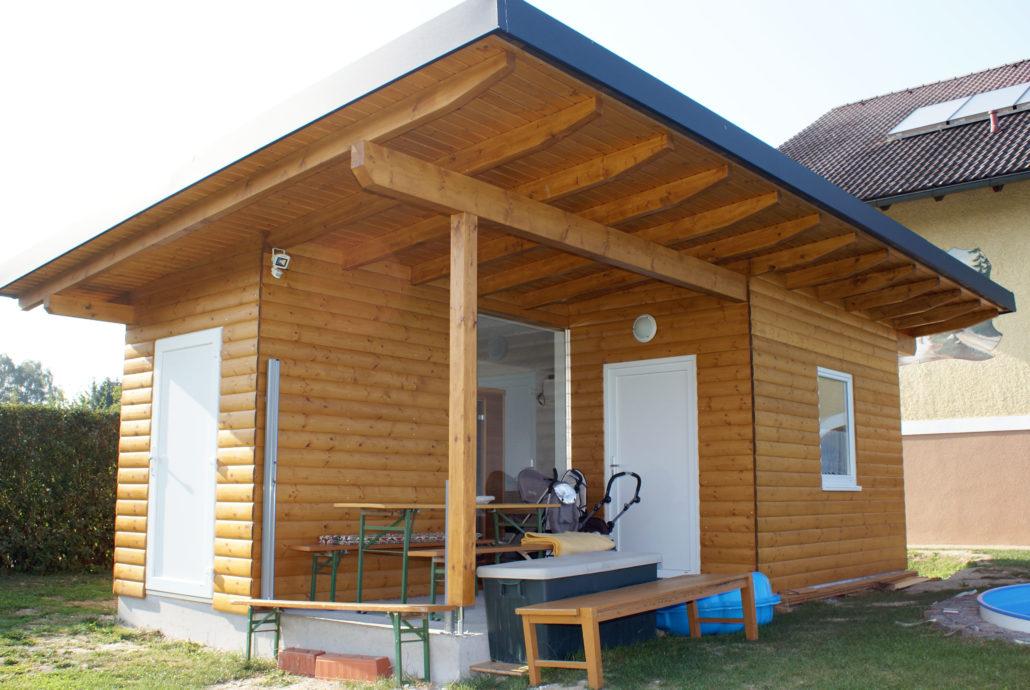 Gartenhaus aus Holz