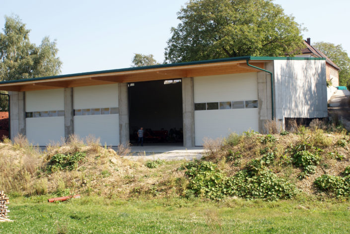 Maschinenhalle in Haag