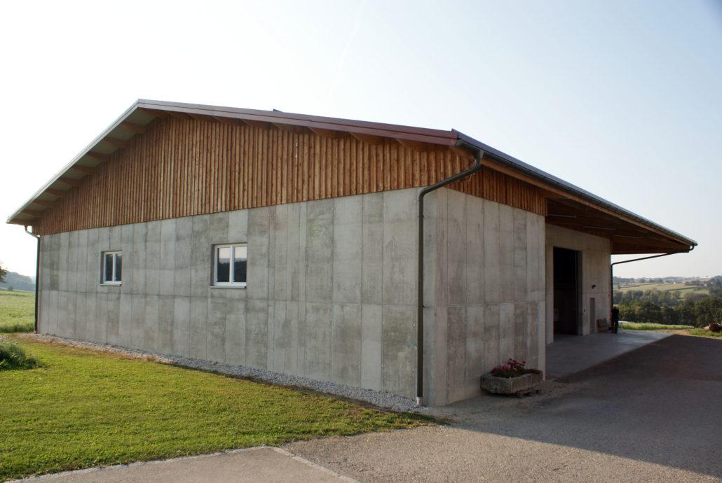 Maschinenhalle in Seitenstetten